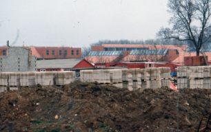 Great Linford housing estate under construction