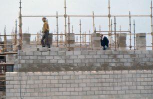A building under construction