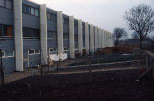 Back gardens in Beadlemead, Netherfield