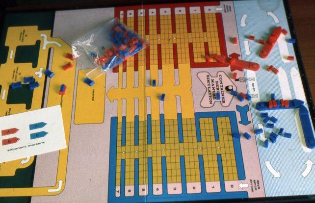 Container Berth Manual Simulation game