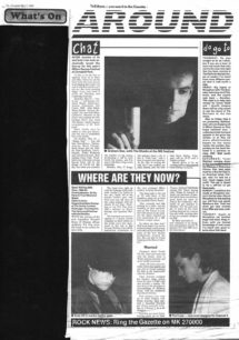 Preview of the MK Festival of May 1991, and a look back at NA Pop 2000