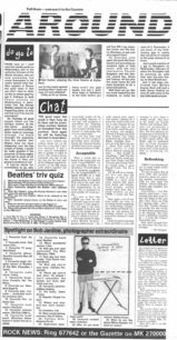Demise of local TV Channel 40 [newspaper cutting]