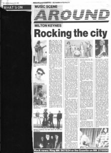 Rocking The City [newspaper article]