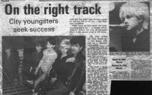 On the right track - NA Pop 2000 [newspaper cutting]