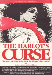 The Harlot's Curse [poster for play]
