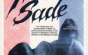 Marat Sade [poster for play]
