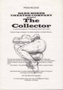 The Collector [poster for play]