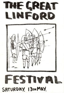 Great Linford Festival  Programme 1978 pages 1, 2 and 3
