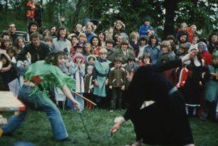 Robin Hood meets Friar Tuck