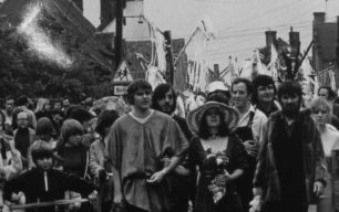 Procession in Great Linford 1980