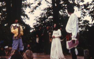 Paul Freeman, Sally Davis and Jon 1981