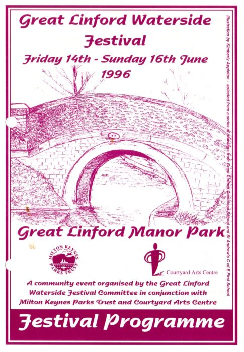 Great Linford Festival 14th to 16th June 1996