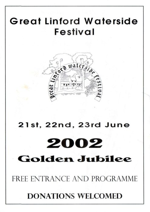 Programme cover for the 2002 Festival