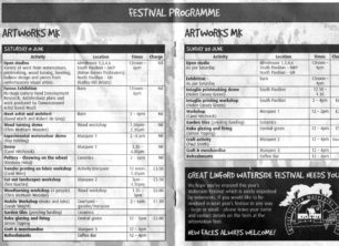 Inner pages of 2004 programme