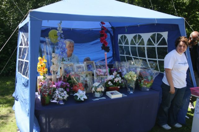 An example of a 2008  stall   Jamie Slee