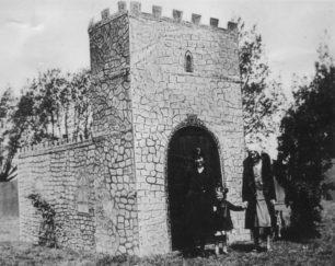 Castle made for a Hospital Fete, c 1913.