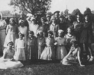 New Bradwell Coronation Review, 1937.