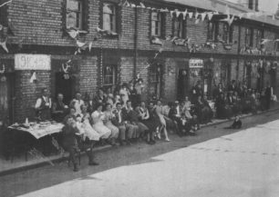 New Bradwell's Silver Jubilee Celebrations, May 1935.