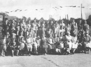 New Bradwell Silver Jubilee Celebrations, May 1935.