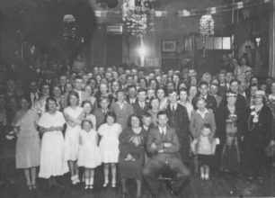 King Edward Street's party at the Social Club, St Giles Street.