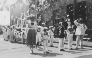 New Bradwell, Silver Jubilee, May 1935.