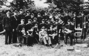 Bradwell Silver Band, c 1950.