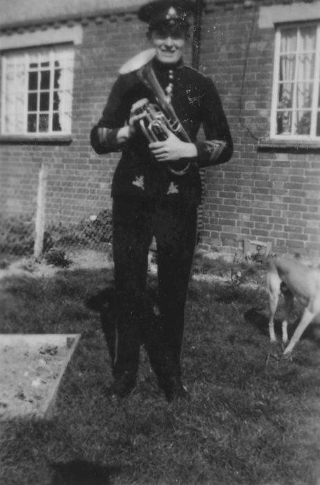 Bradwell Silver Band musician.