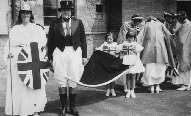 Britannia and John Bull costumes