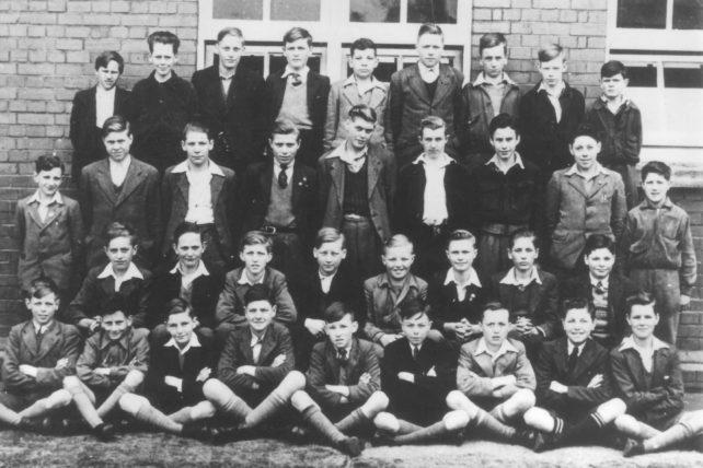 School Group of boys.
