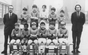 New Bradwell Football Team 1967.