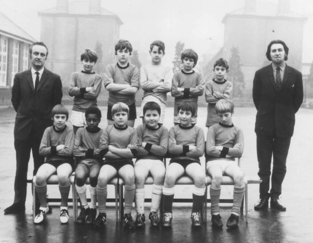 New Bradwell Football Team 1967.