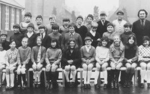 Bradwell School Mr Pearson's Class, 1968.