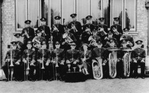 Bradwell Silver Band, 1954.