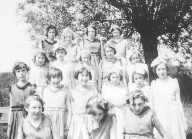 Group of young ladies.