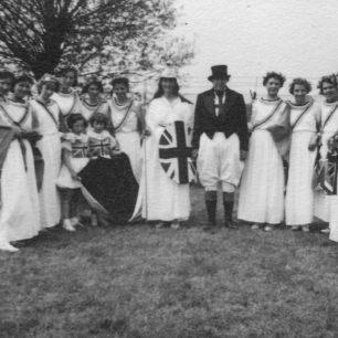 Group dressed up as John Bull