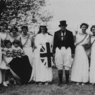 Britannia and their 14 helpers