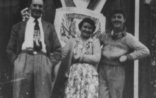 1953 Coronation, Mr & Mrs Hiorns and David Hiorns