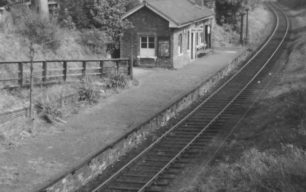 Wolverton to Newport Pagnell Train Line, Bradwell Station.