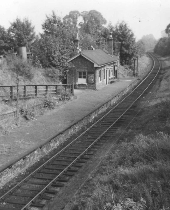 Wolverton to Newport Pagnell Train Line