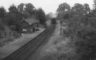 Last Train at Bradwell Station, 5-Sep-1964