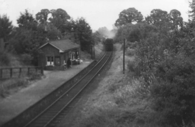 Last Train at Bradwell Station