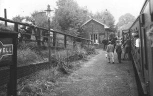 Last day of train service at Bradwell Station 2250 Bradwell 5-Sep-1964.