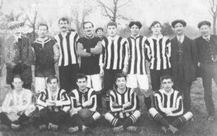 New Bradwell St James' Football Club team