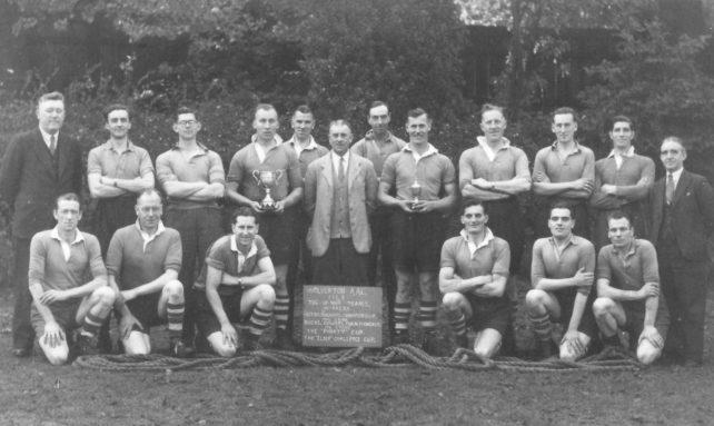 Wolverton AAC Tug of War team