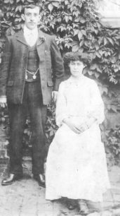Mr Herbert Cook & Mrs Clara Cook.