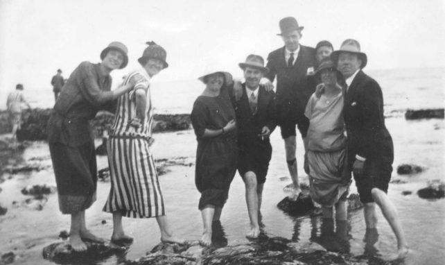 Brighton bank holiday outing 1925.