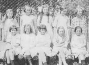 Group of girls in 1926-7.