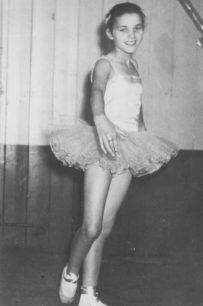 Gillian Berridge. Jennifer Braziers Dancing School c1962.