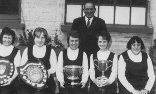 Prize winning  St John's Ambulance Ladies Team, Wolverton Works