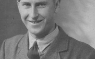 Man in RAF uniform.